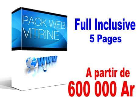 Pack Vitrine