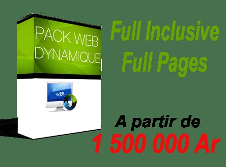 Pack Conception De Site Dynamique Web Internet Madagascarmy Web